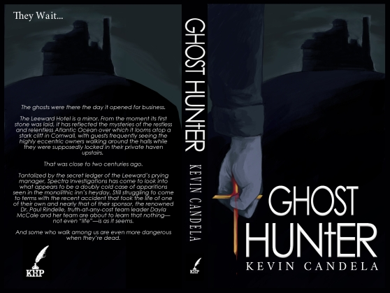 Ghost Hunter Cover for Print