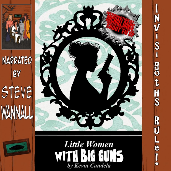 Little Women with Big Guns Cover for ACX