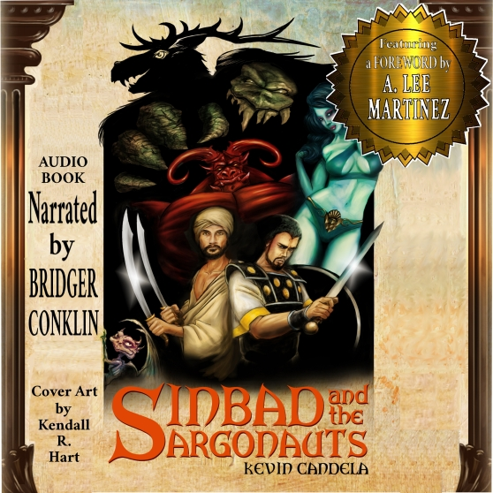 Sinbad and the Argonauts Cover for ACX